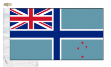 New Zealand Civil Air Ensign Courtesy Boat Flags (Roped and Toggled)
